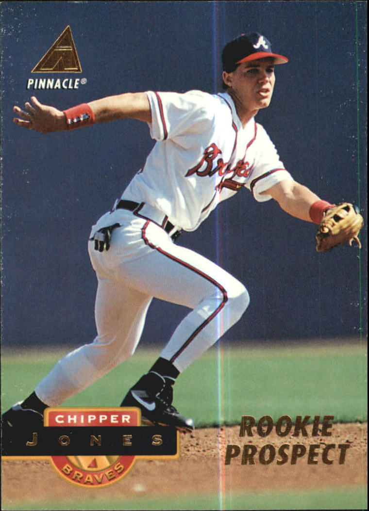 1994 Pinnacle #236 Chipper Jones