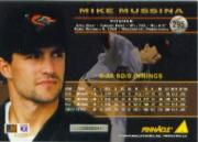1994 Pinnacle #295 Mike Mussina back image