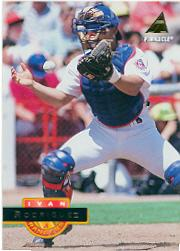 1994 Pinnacle #349 Ivan Rodriguez front image