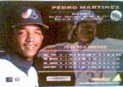 1994 Pinnacle #501 Pedro Martinez back image