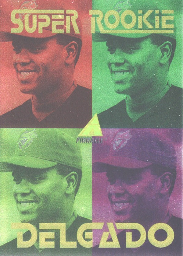 1994 Pinnacle #SR1 C.Delgado Super Rookie