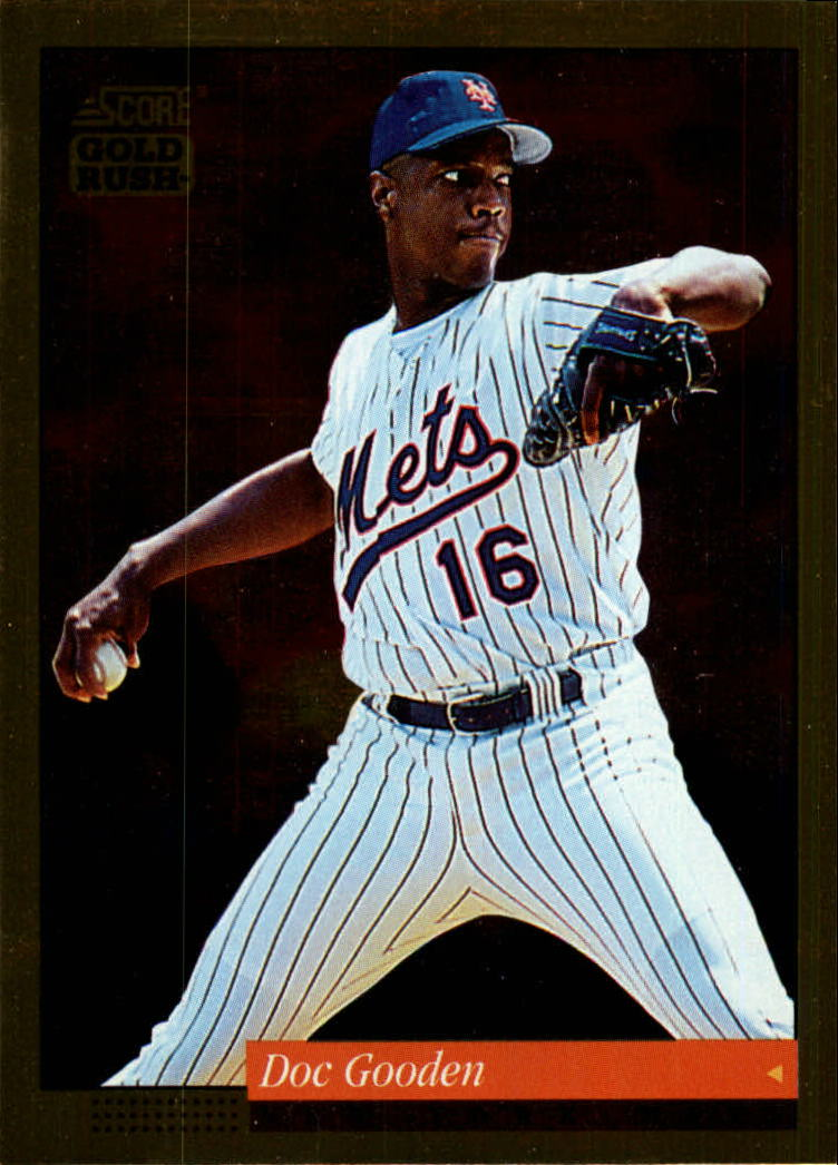 1994 Score Gold Rush #22 Dwight Gooden front image