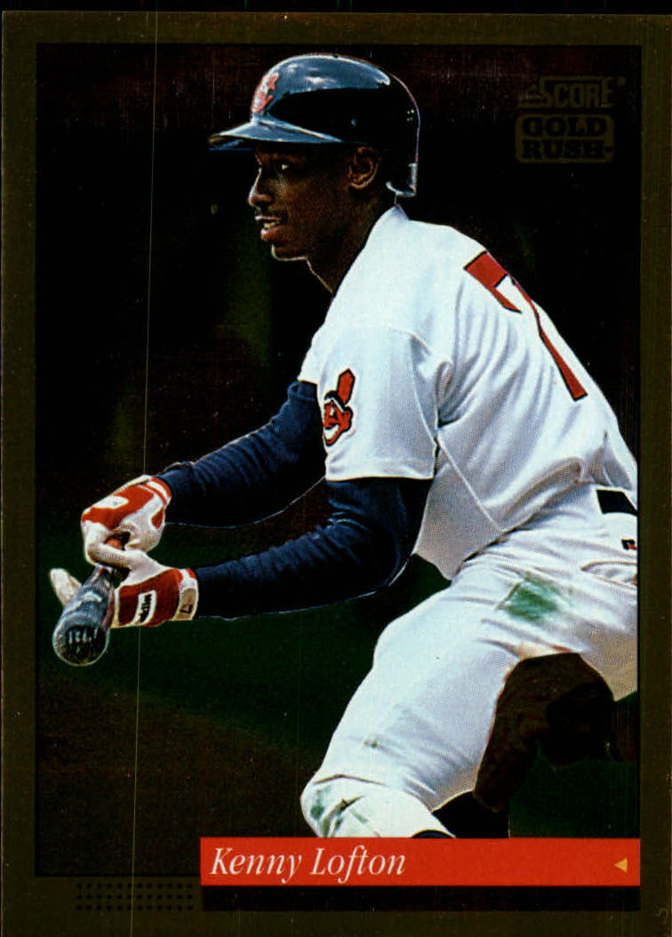 1994 Score Gold Rush #81 Kenny Lofton