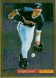 1994 Score Gold Rush #572 Chipper Jones