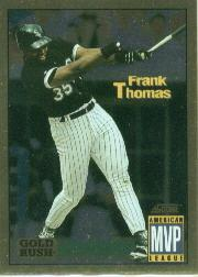 1994 Score Gold Rush #631 Frank Thomas MVP