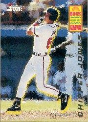 1994 Score Boys of Summer #58 Chipper Jones