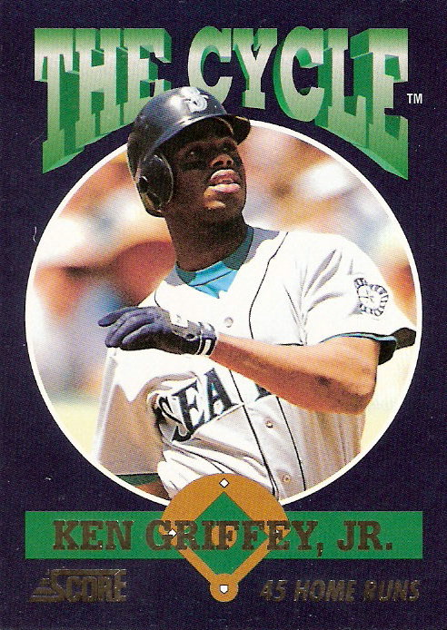1994 Score Cycle #TC17 Ken Griffey Jr.