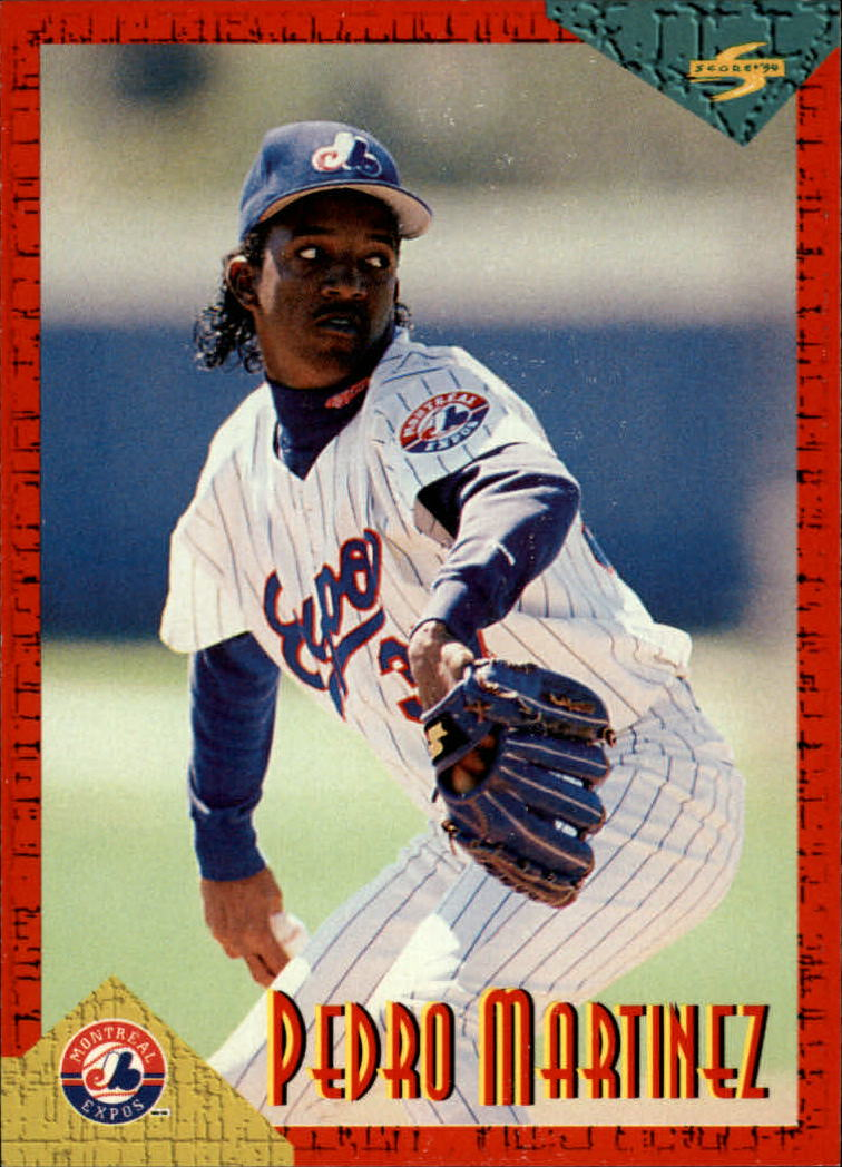 1994 Score Rookie/Traded #RT62 Pedro Martinez