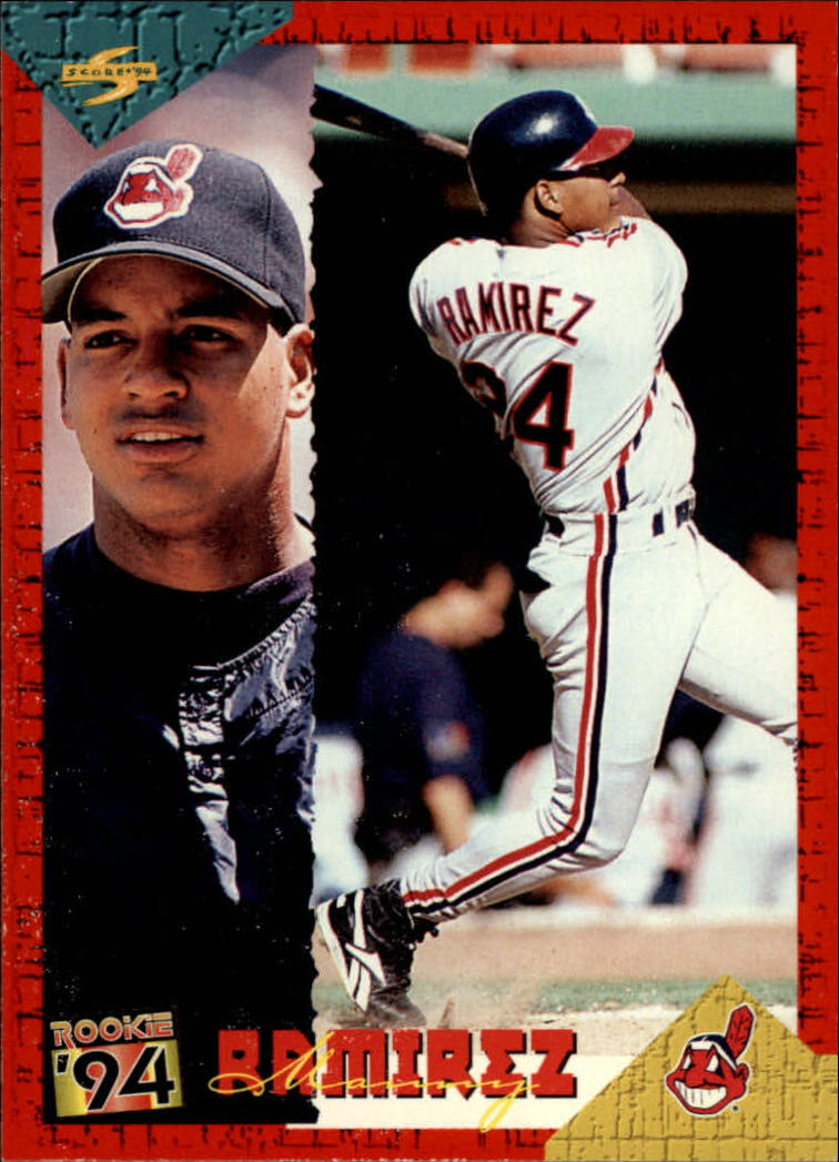 1994 Score Rookie/Traded #RT72 Manny Ramirez