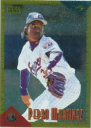 1994 Score Rookie/Traded Gold Rush #RT62 Pedro Martinez