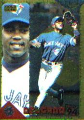 1994 Score Rookie/Traded Gold Rush #RT102 Carlos Delgado