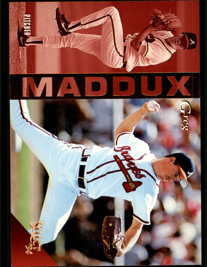 1994 Select #2 Greg Maddux