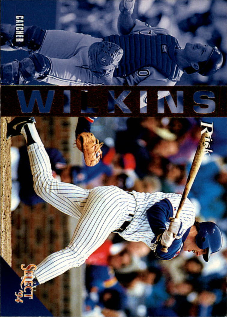 1994 Select #16 Rick Wilkins