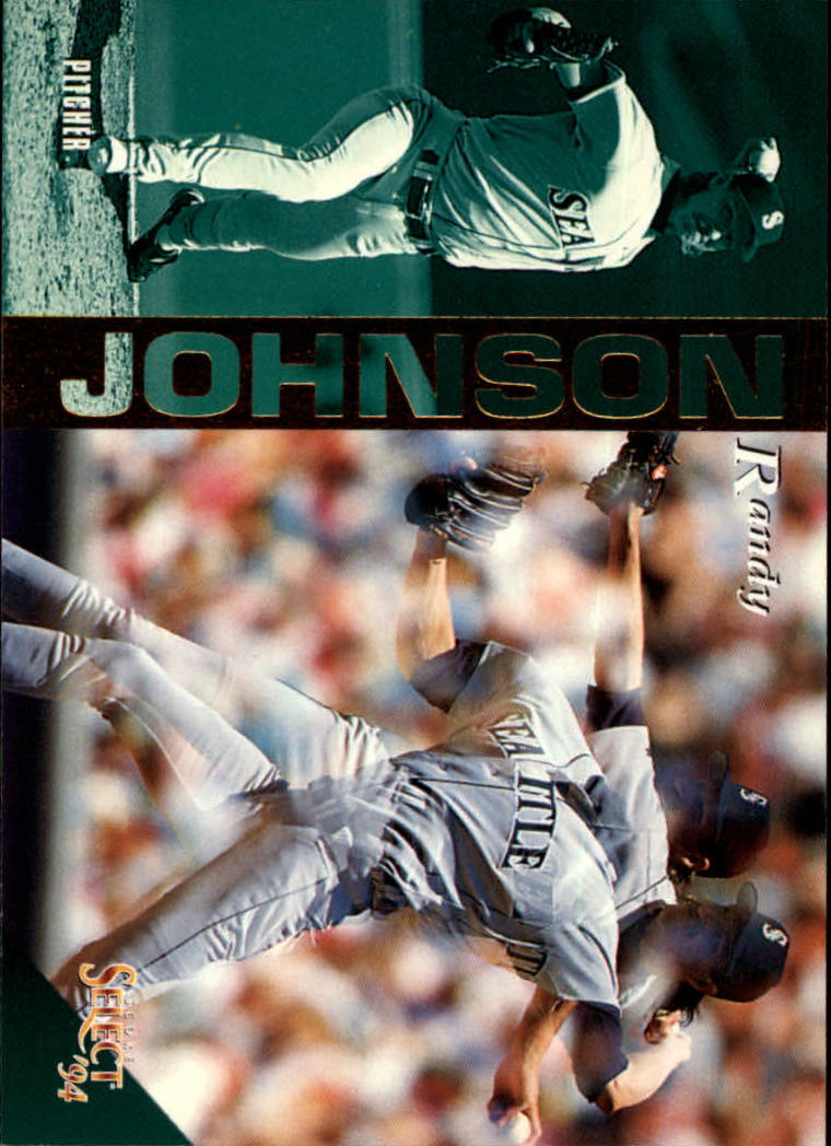 1994 Select #19 Randy Johnson