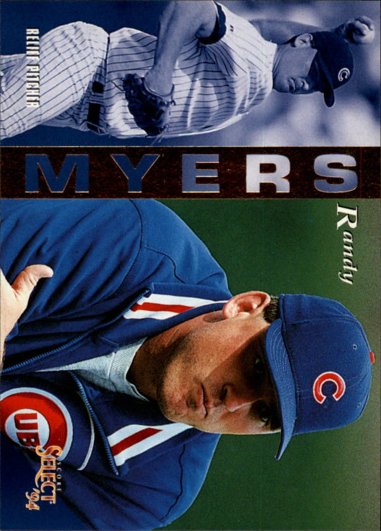 1994 Select #22 Randy Myers