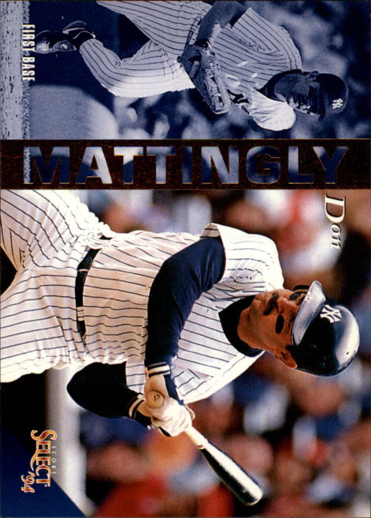 1994 Select #23 Don Mattingly