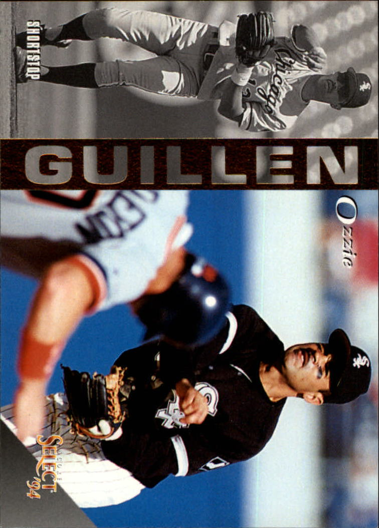 1994 Select #25 Ozzie Guillen