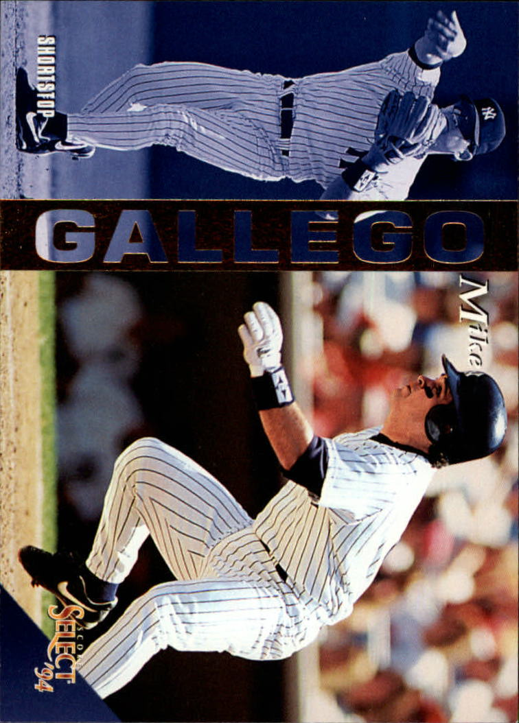 1994 Select #53 Mike Gallego