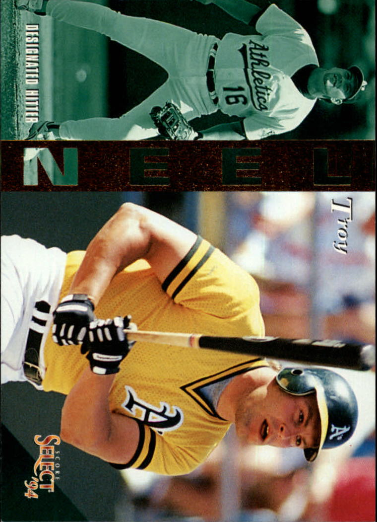 1994 Select #68 Troy Neel