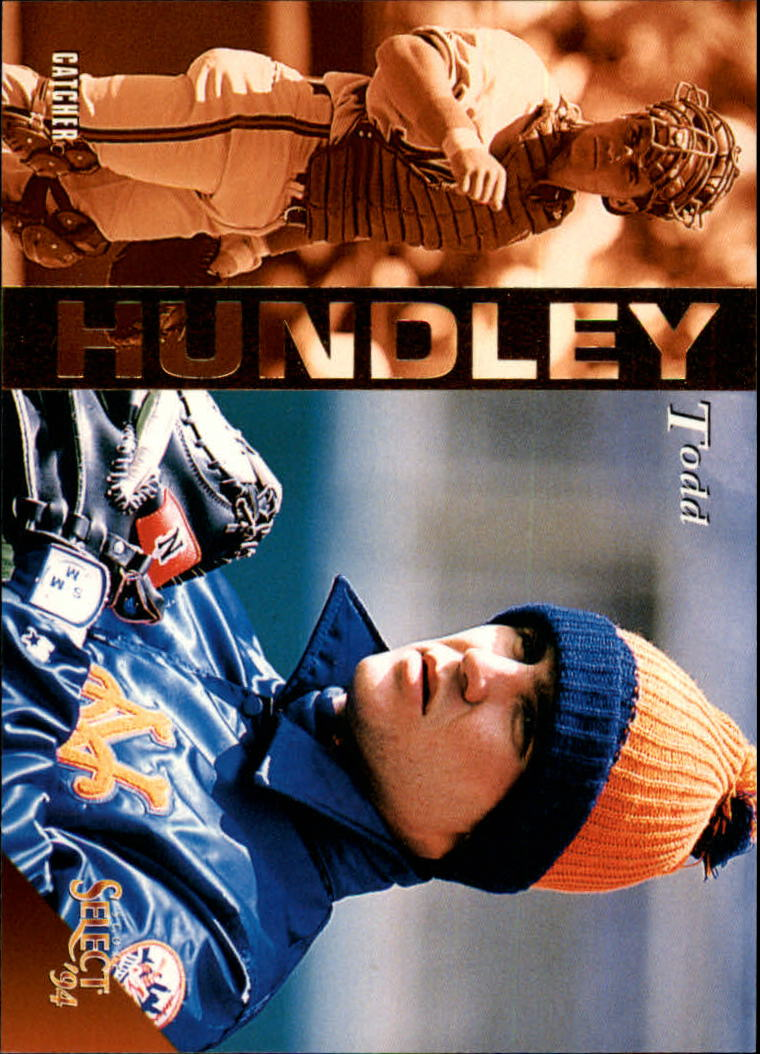 1994 Select #73 Todd Hundley