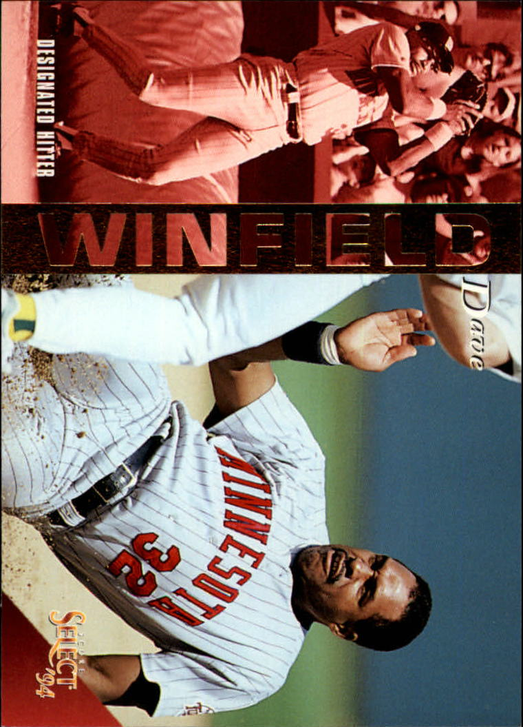 1994 Select #84 Dave Winfield
