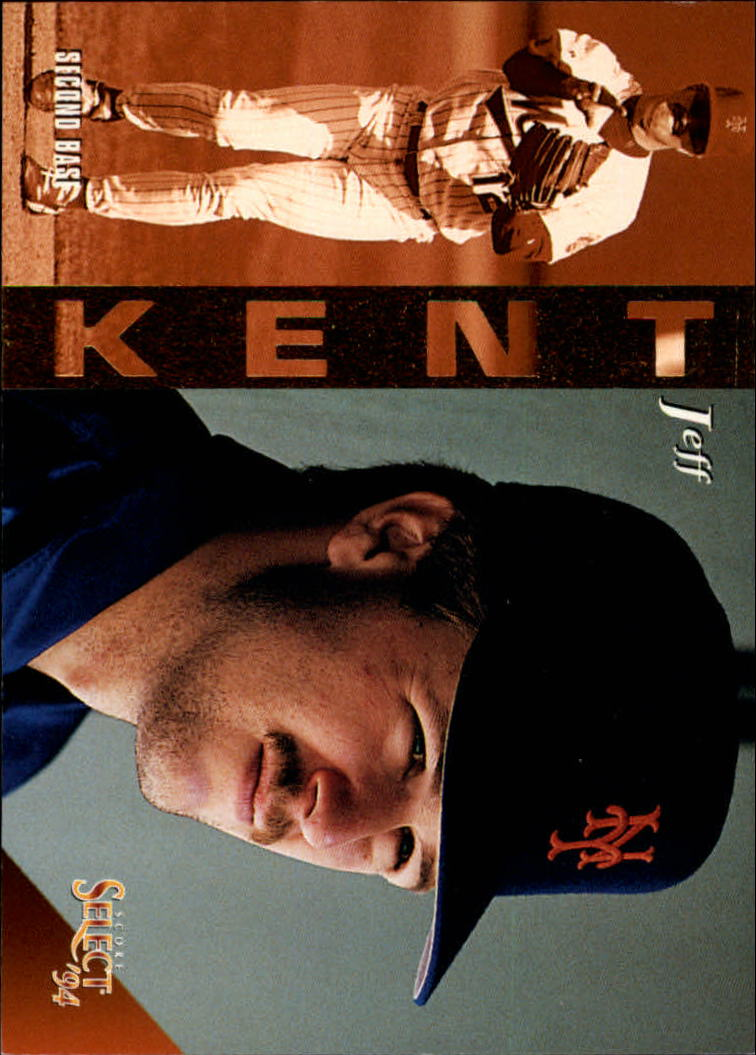 1994 Select #85 Jeff Kent