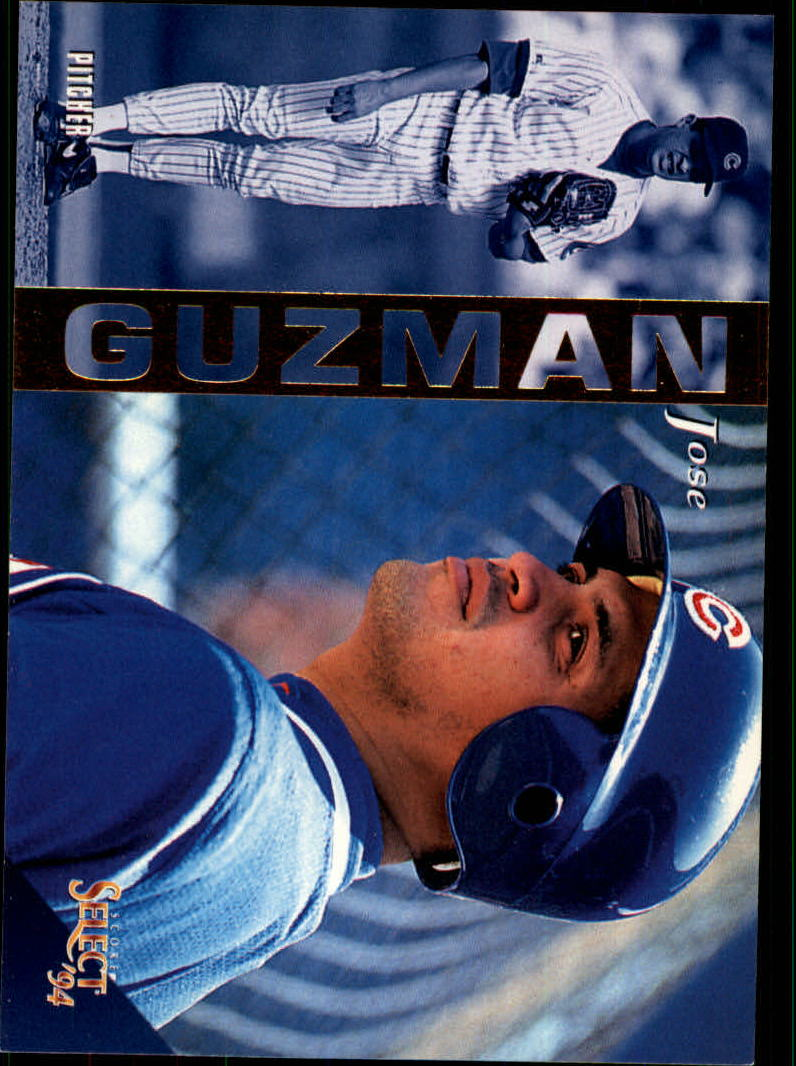 1994 Select #90 Jose Guzman