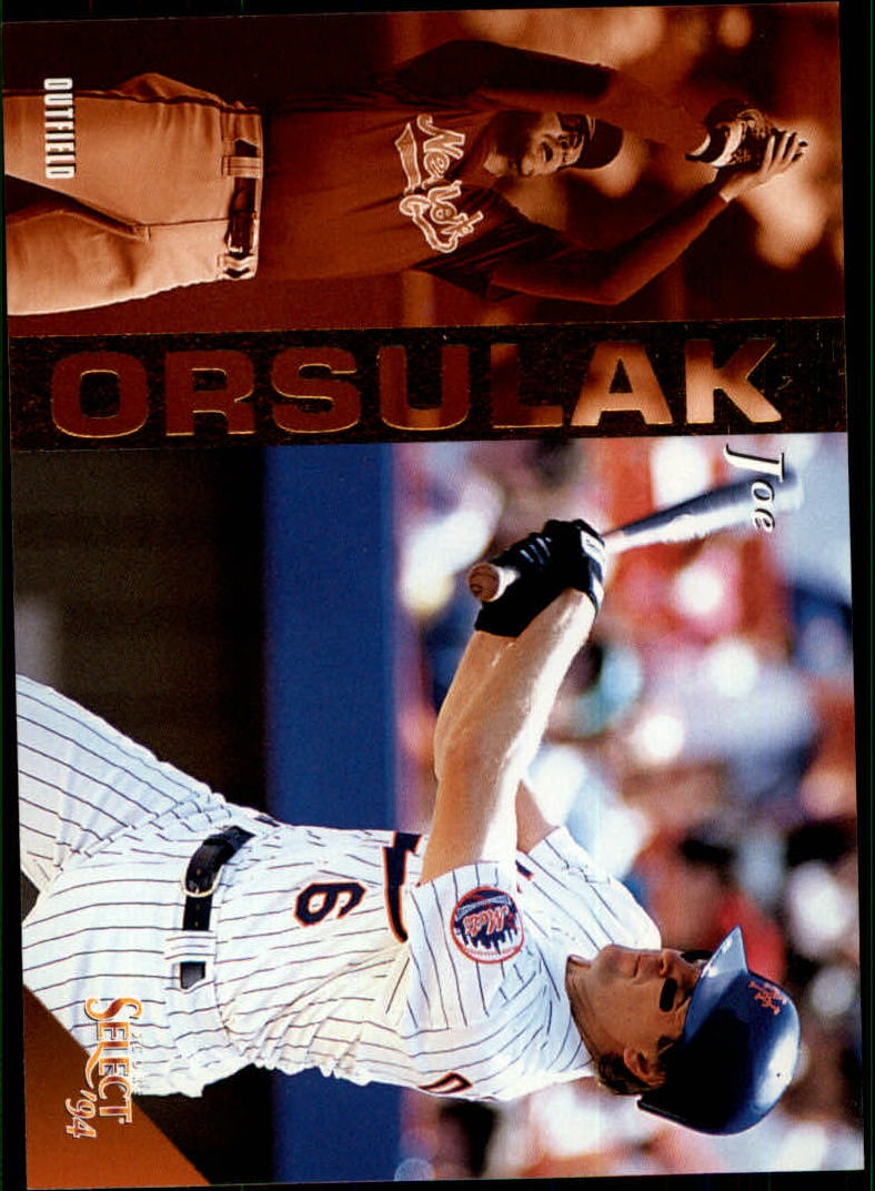 1994 Select #94 Joe Orsulak