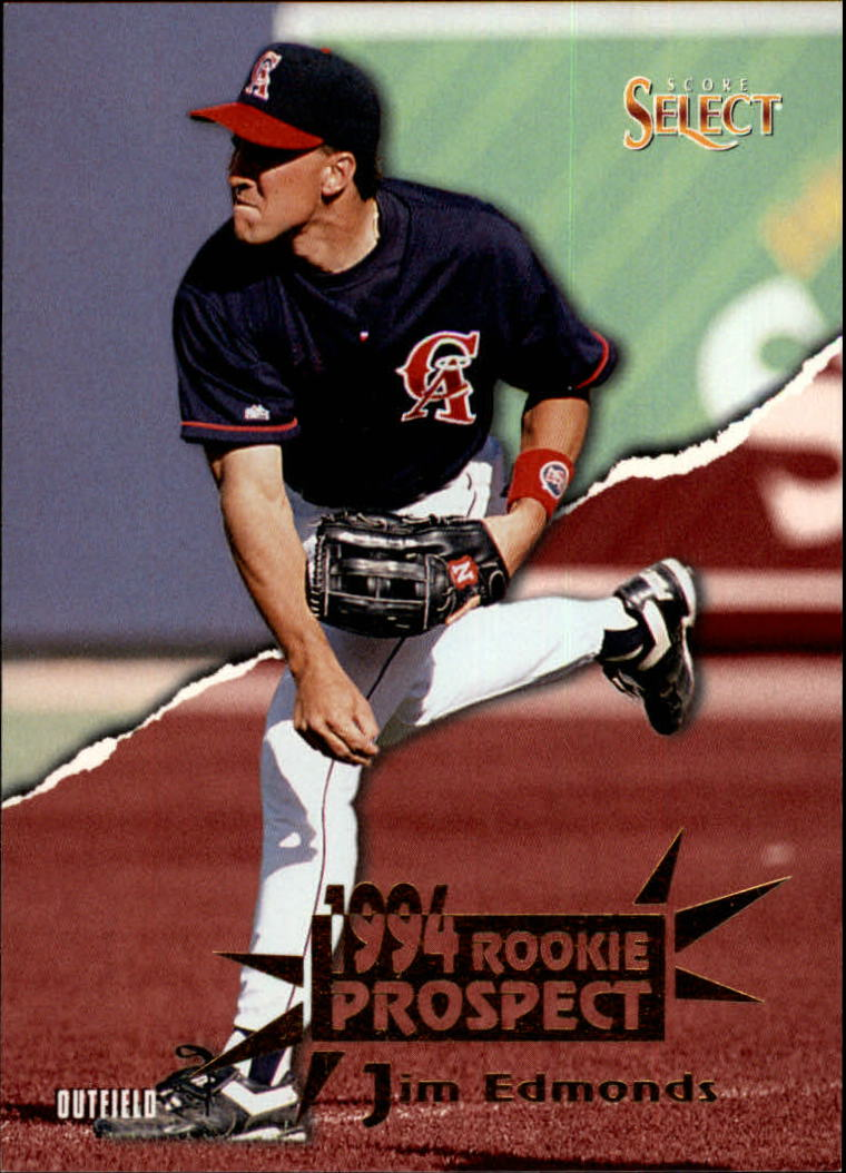1994 Select #198 Jim Edmonds