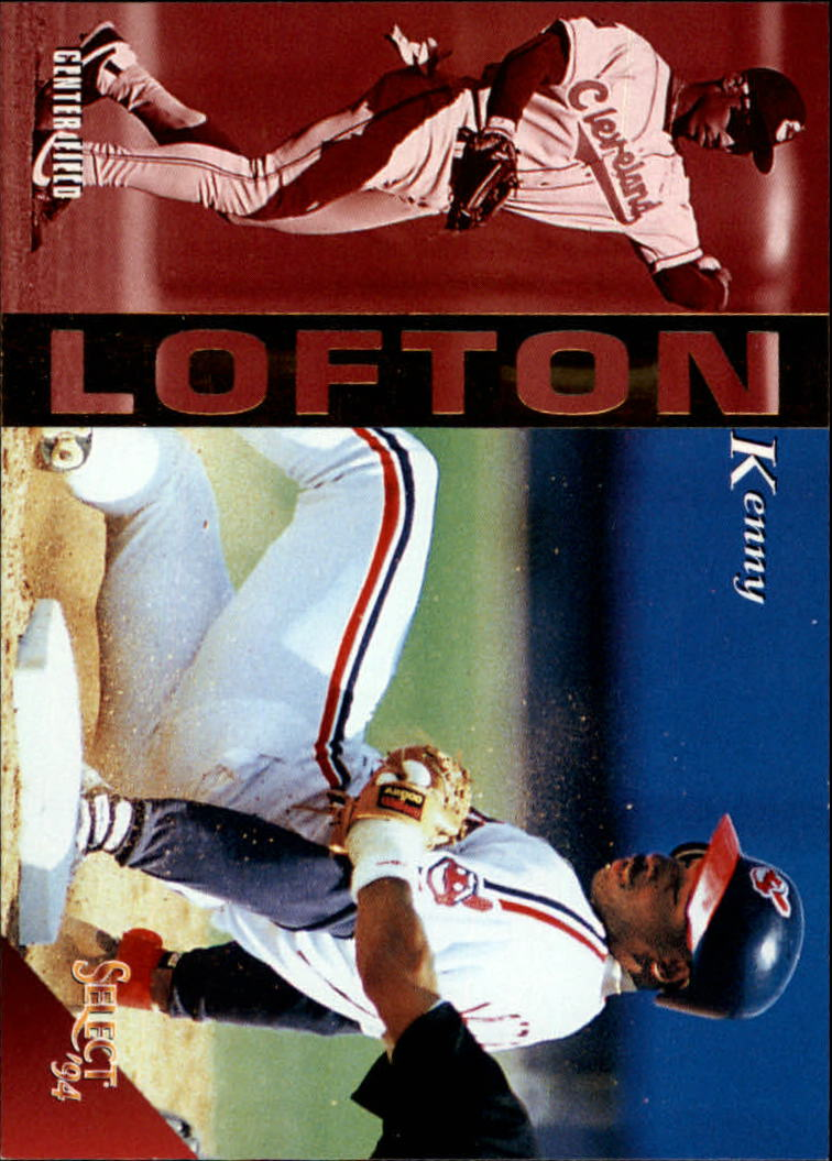 1994 Select #231 Kenny Lofton