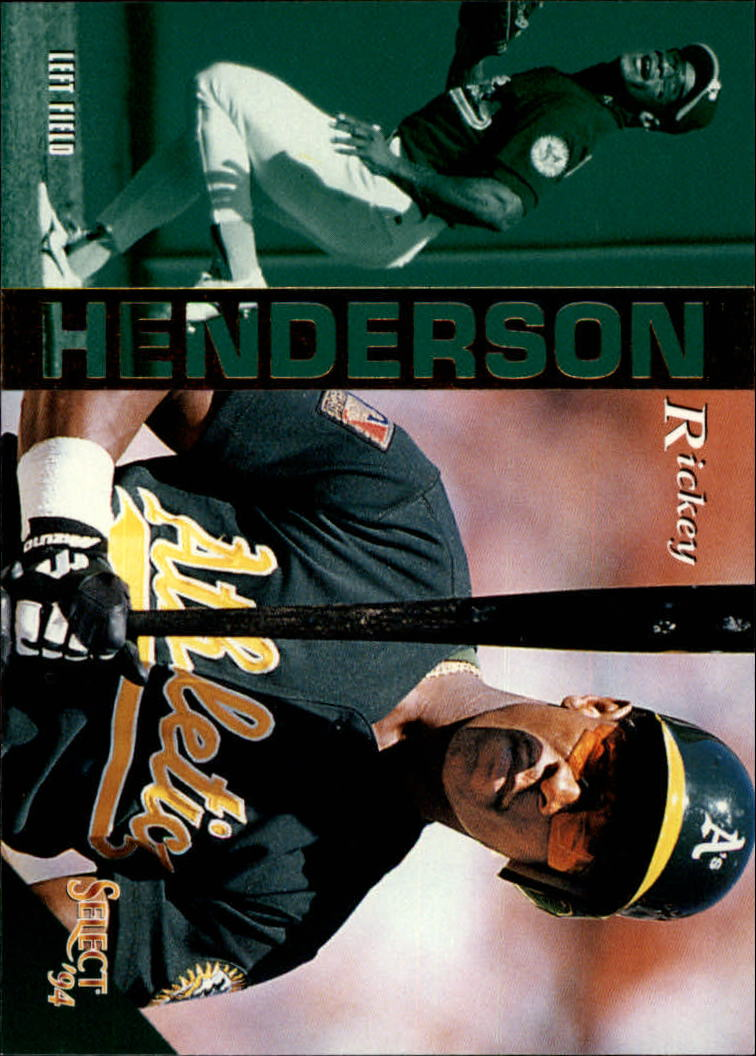 1994 Select #254 Rickey Henderson