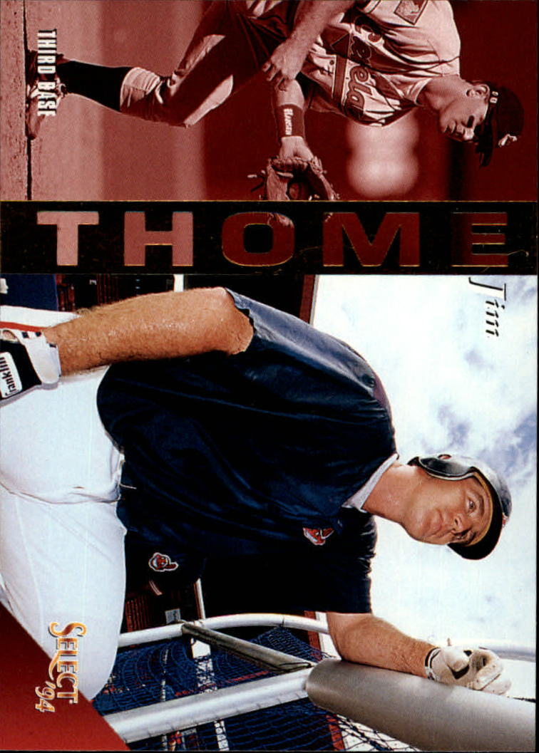 1994 Select #299 Jim Thome