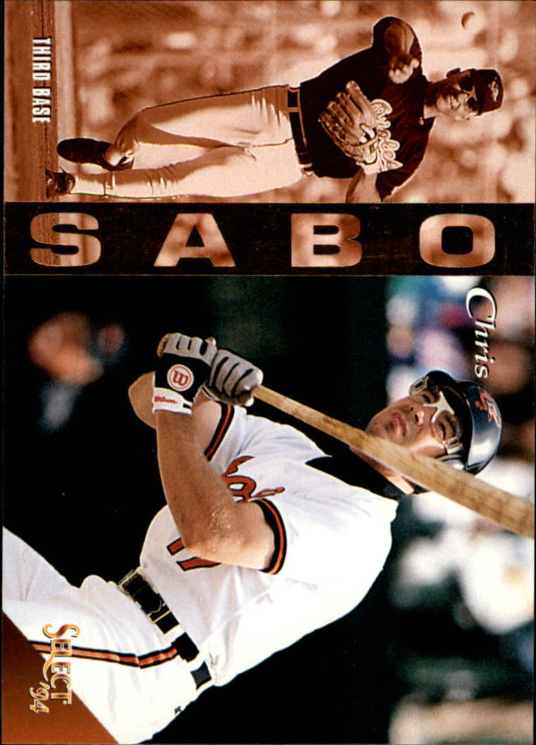 1994 Select #314 Chris Sabo