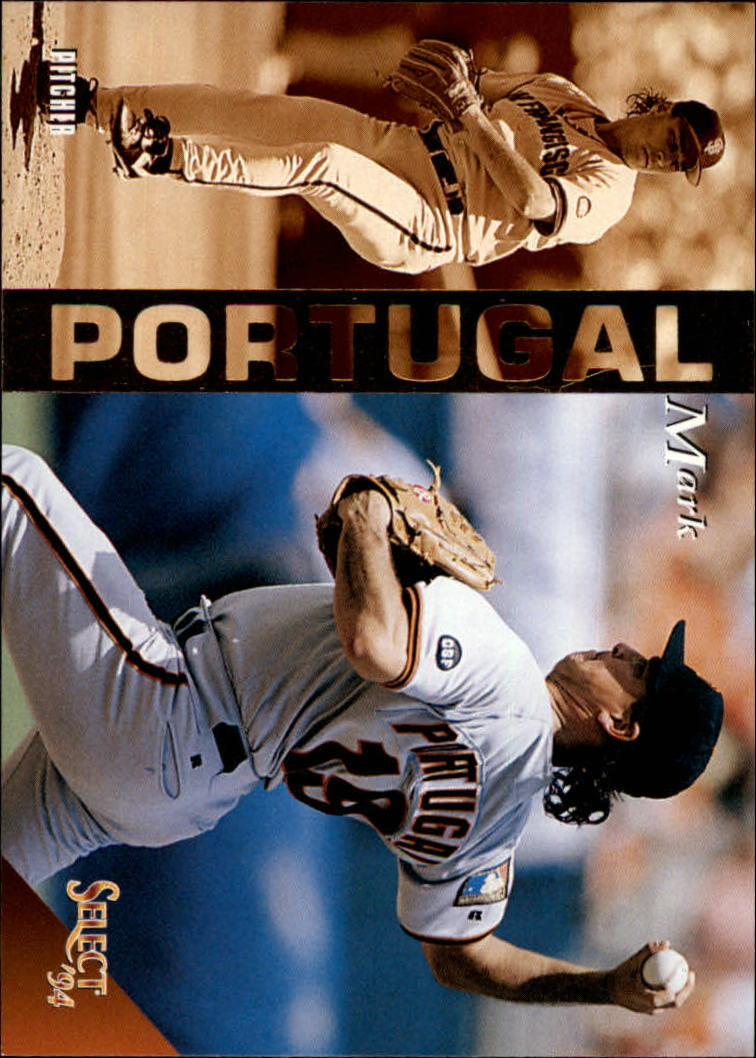 1994 Select #316 Mark Portugal