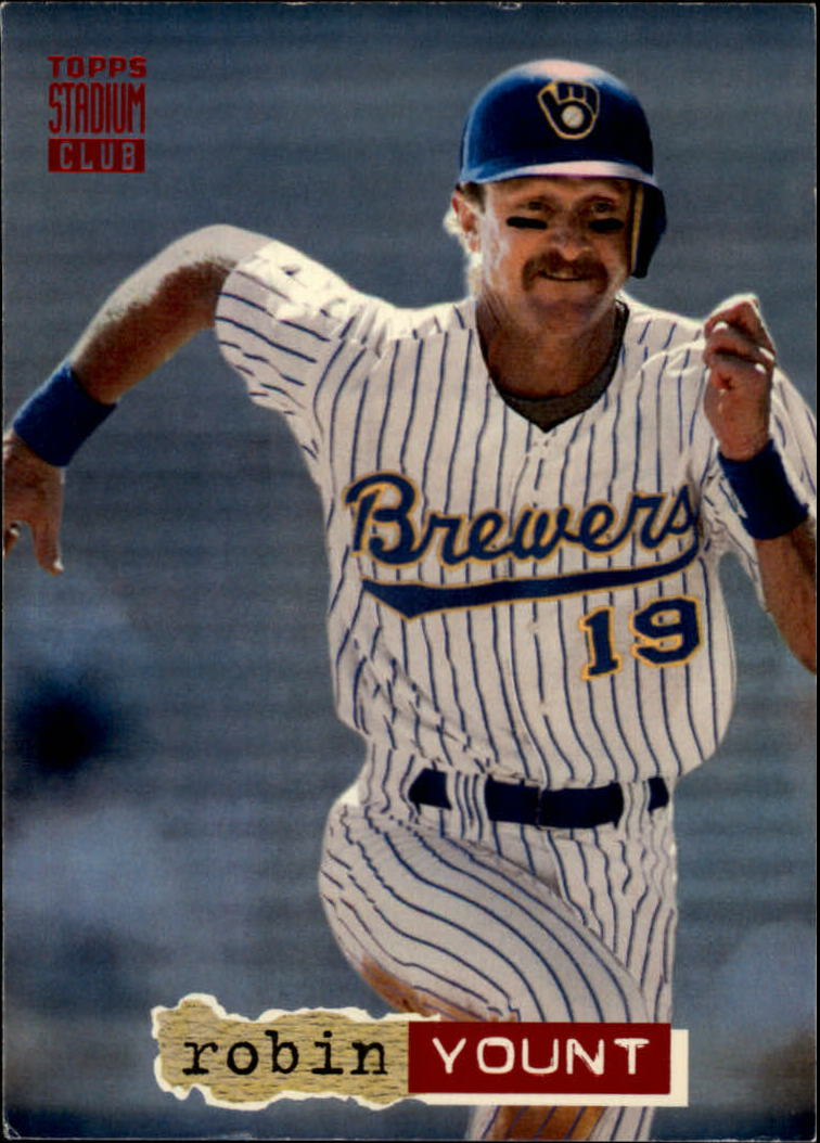 1994 Stadium Club #1 Robin Yount