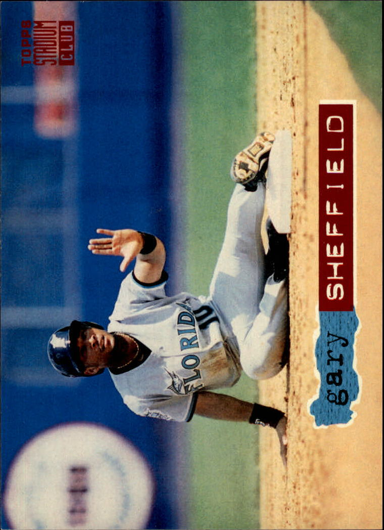 1994 Stadium Club #4 Gary Sheffield