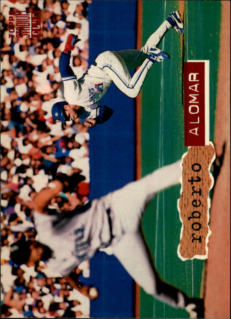 1994 Stadium Club #10 Roberto Alomar