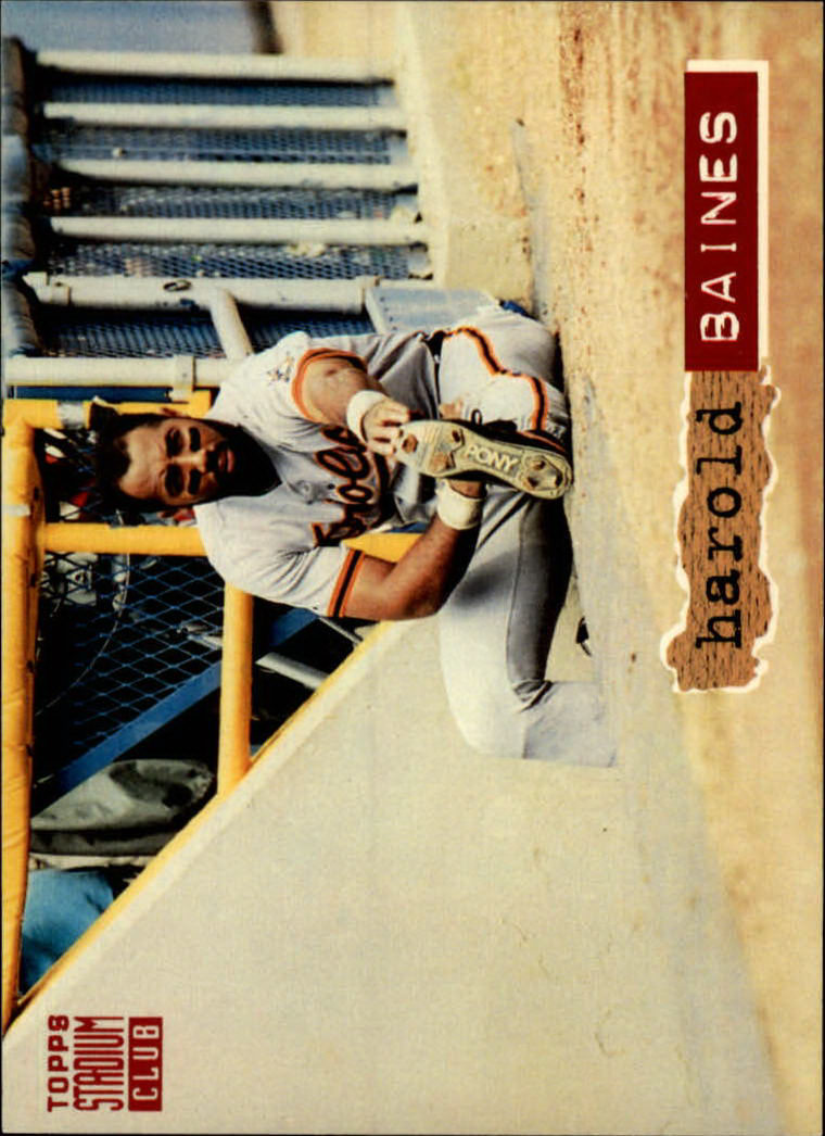 1994 Stadium Club #16 Harold Baines
