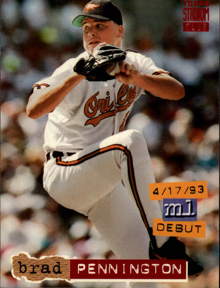 1994 Stadium Club #17 Brad Pennington