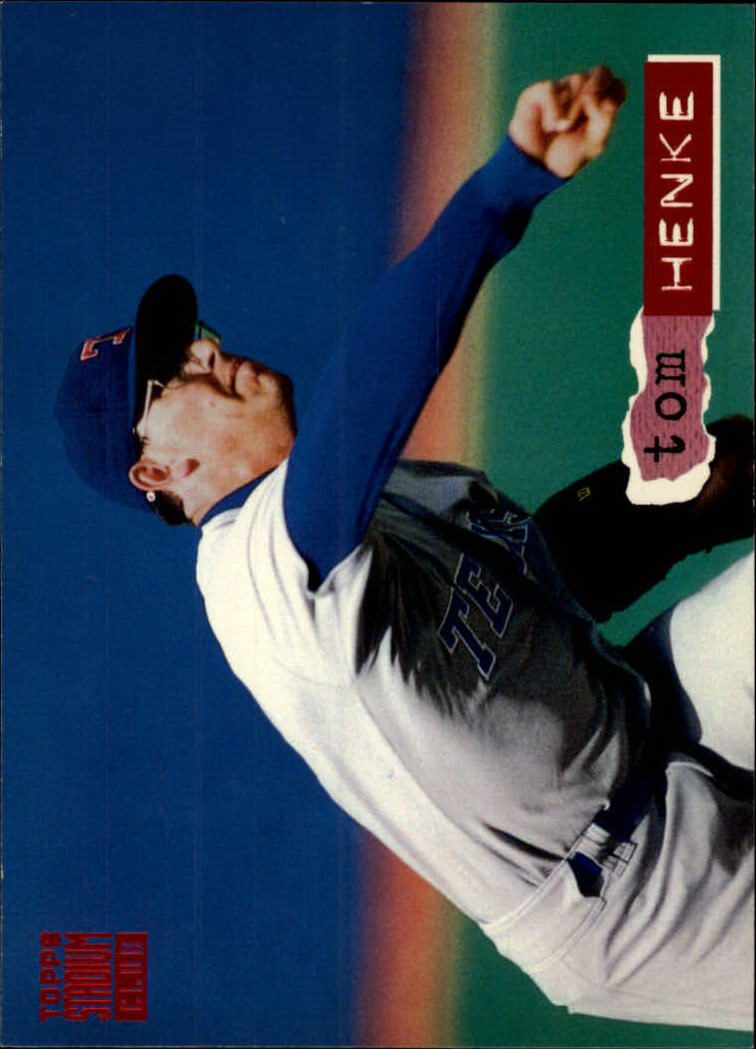 1994 Stadium Club #19 Tom Henke