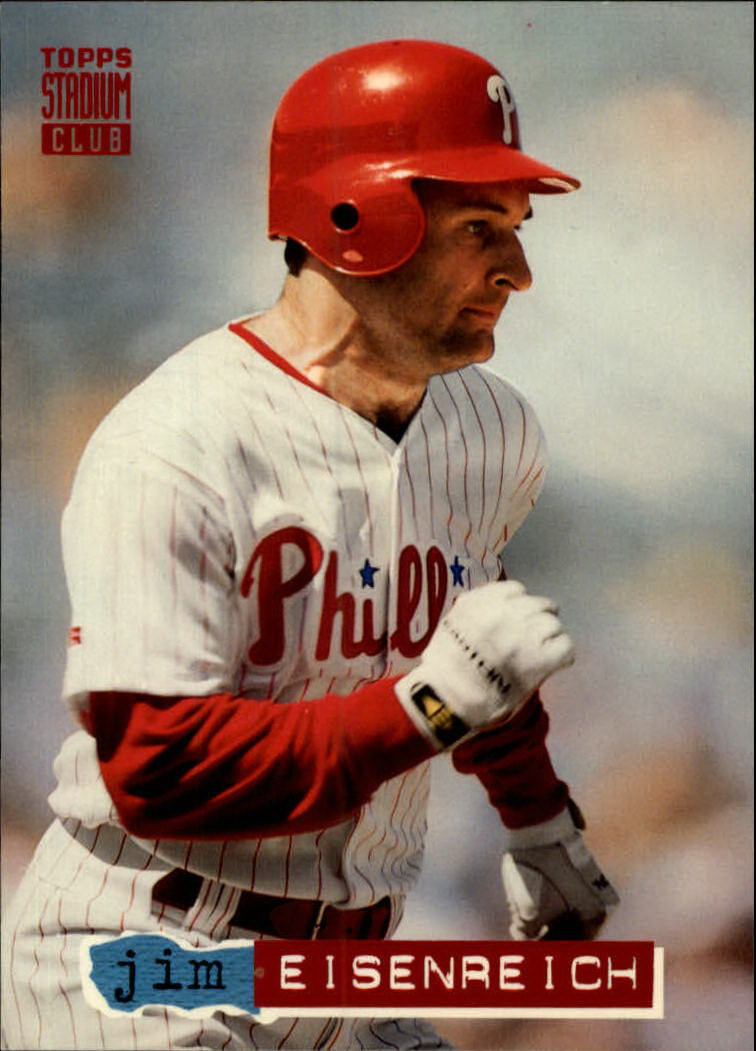 1994 Stadium Club #27 Jim Eisenreich