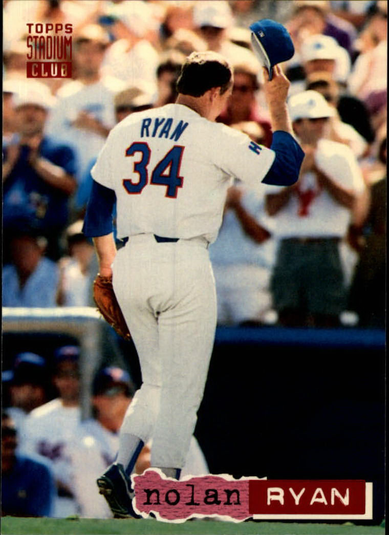 1994 Stadium Club #34 Nolan Ryan