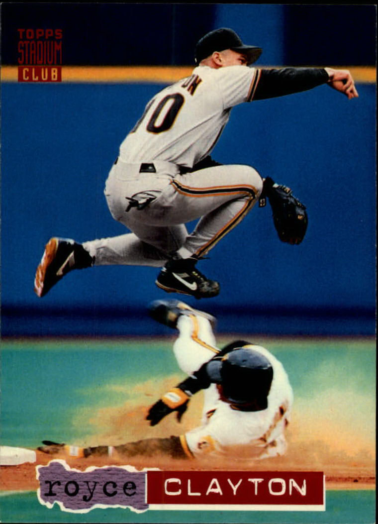 1994 Stadium Club #39 Royce Clayton