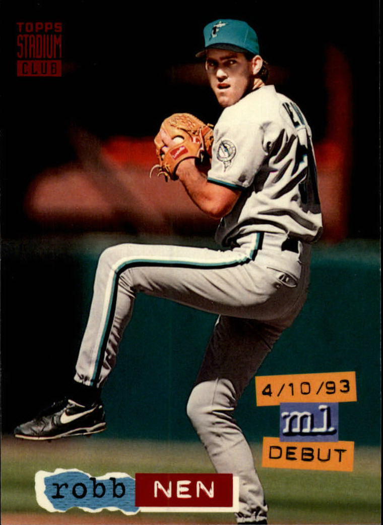 1994 Stadium Club #45 Robb Nen UER
