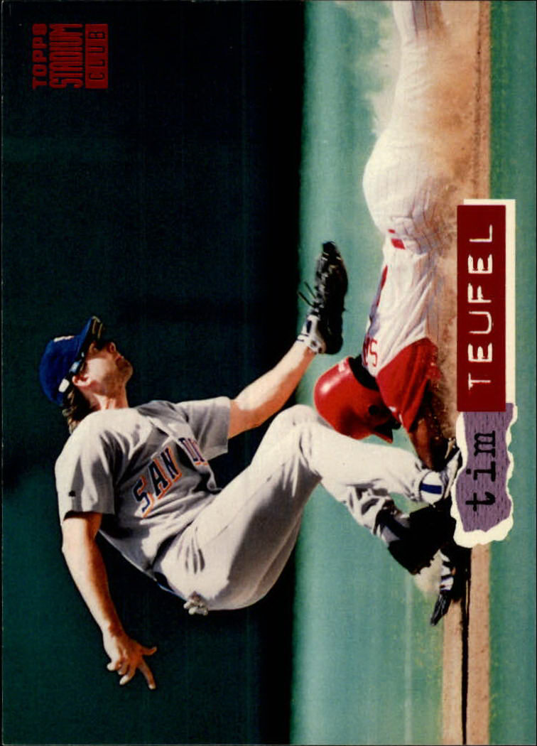 1994 Stadium Club #46 Tim Teufel