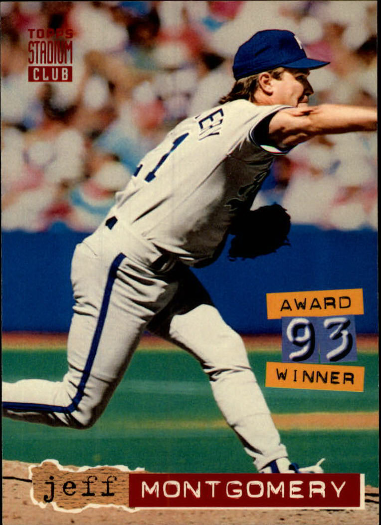 1994 Stadium Club #49 Jeff Montgomery