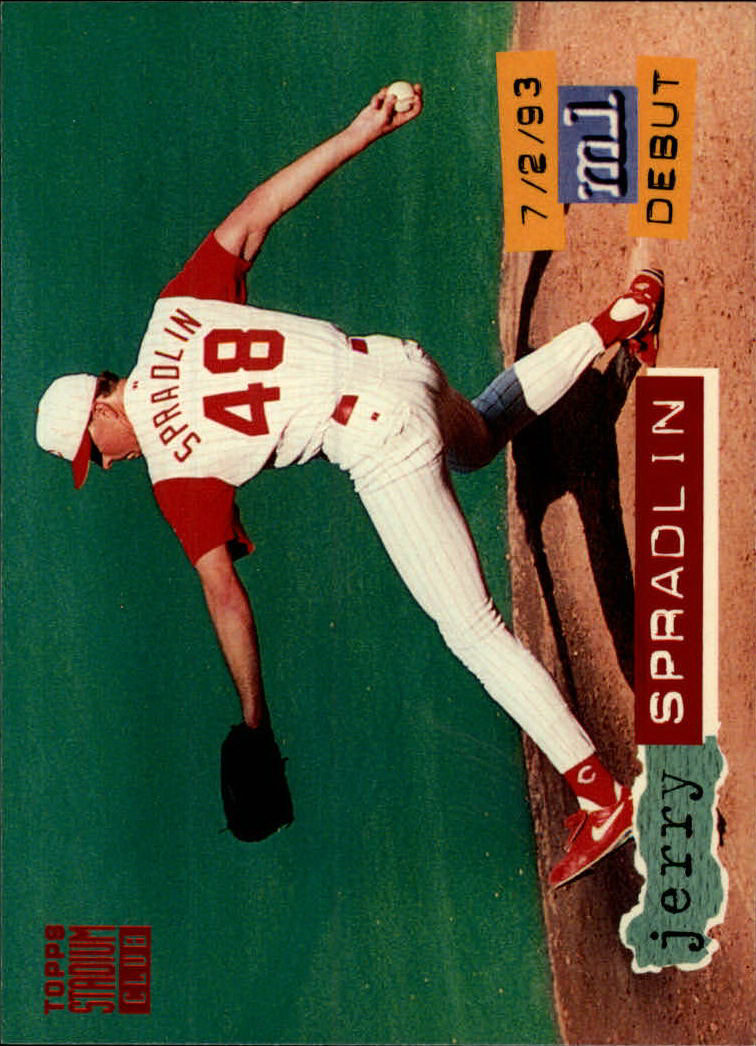1994 Stadium Club #56 Jerry Spradlin