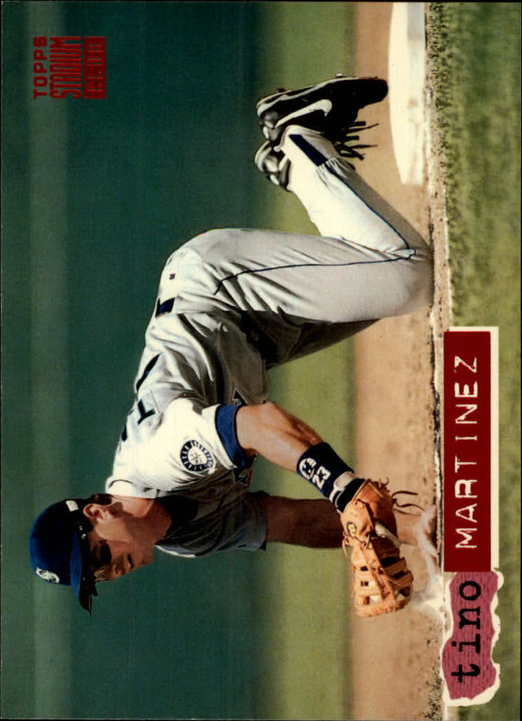 1994 Stadium Club #60 Tino Martinez