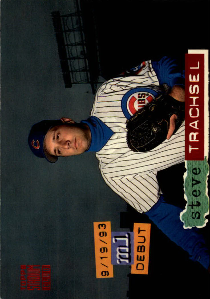 1994 Stadium Club #62 Steve Trachsel