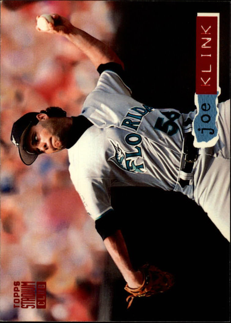 1994 Stadium Club #68 Joe Klink